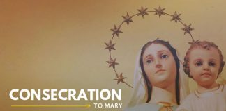 Consecration to Mary catholic marian prayer