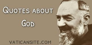 Padre Pio quotes about God