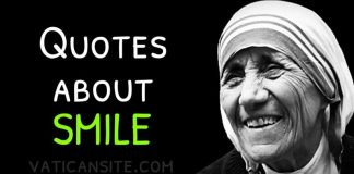 St. Mother Teresa Quotes About Smile